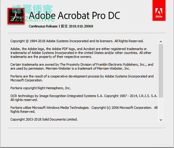 Adobe Acrobat Pro DC 2019.010.20069 中文破解免激活特别版